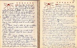 Gerlad Isaac Grubb Journal Pages