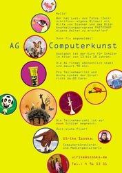 Plakat AG Computerkunst