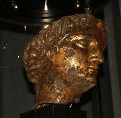 Minerva's head