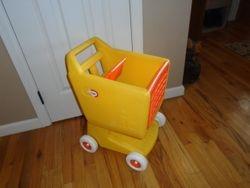 Little Tikes Vintage Shopping Cart - $20