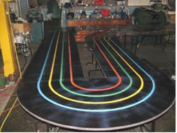 Painted track 3 but recoated again