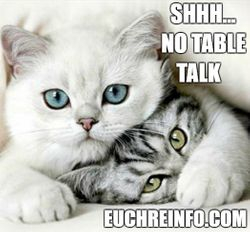 Shhh... no table talk.