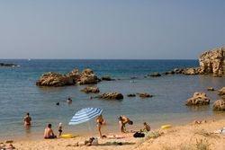 Agii Apostoli second beach