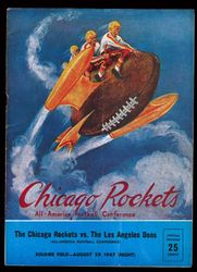 1947 Chicago Rockets vs. L.A. Dons