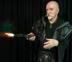Dark Wizard's fire wand