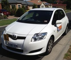 Driving School Glen Waverley - Toyota Corolla Seca Hatch  - Automatic