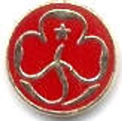 1992 - 2002 Trefoil Guild Promise Badge