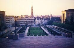 564 View over Brussels Belgium