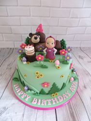 Bear Birthday Cake