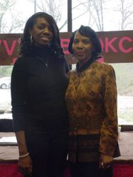 Kimberla & Member Rosemary Luckett