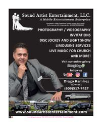 Diego Ramirez, Sound Artist Entertainment