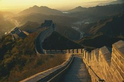 Great Wall at Sunset