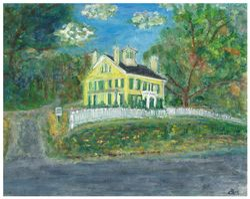Emily Dickinson's House - Amherst, MA