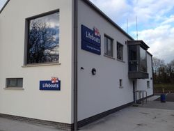 RNLI's first permanent inland lifeboat station now complete at Carrybridge