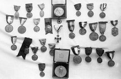 ...More of his medals