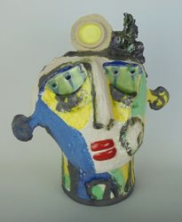 Mary Jones Ceramics.  Old lemons.  SOLD