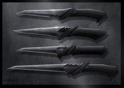 Klingon knives