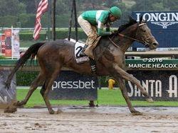 Exaggerator Wins the Santa Anita Derby