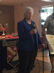 Marcia - Delivering a Thankyou Speech