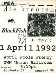 1992-04-01 UWM Union Ballroom, Milwaukee, WI
