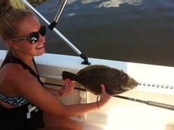 19 3/4 inch Flounder  8/1/2012