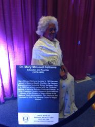 Buff of Mary McLeod Bethune