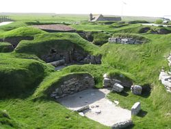 Skara Brae - the hobbit homes of our forebears