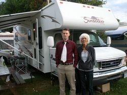 Matt with Oma Merrickville 2009