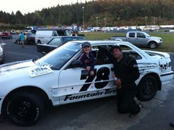 Hornet car racing 2013