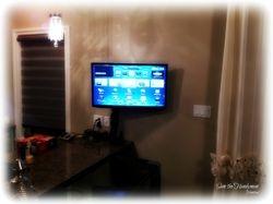 "39"" smart tv Installed"