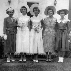 1950 WEDDING PARTY RESTORATION