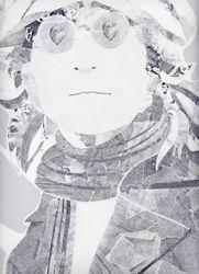 John Lennon close up