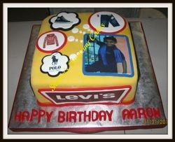 CAKE 47A2 -A Young Boy's Dreams Cake