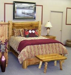 Queen Bed, Cedar