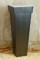 Metal and Marble Pedestal