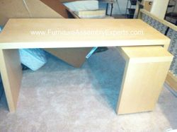 ikea malm desk installation service in Baltimore MD