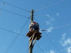 Logan on zip line platform 2