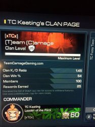 Team Carnage Gaming XboxOne Public team