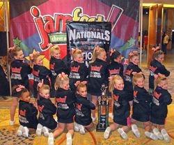 Min Cheer National Champions