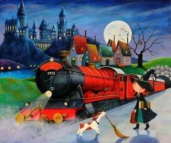 Ulla goes to Hogwarts