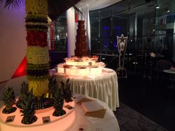 Celebrity Chocolate Fountain Hire Manchester