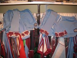 Away players socks shorts 1976/80