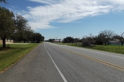 FM 359 Street View in Pattison looking east