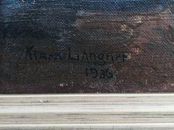 Natiurmortas. Klara Langer, 1936 m. Kaina 157