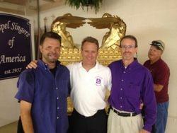 Dr. Hamilton, Jay Meeks, Charles Wambolt