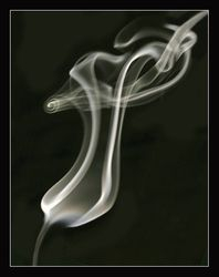 Incense smoke - 2