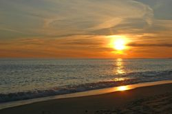 Golden Sunset at South Beach II