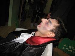 Vampiro in siesta