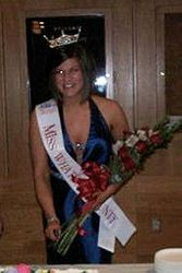 Miss Whatcom County 2010 with Jamaica Me Tan airbrush tan!