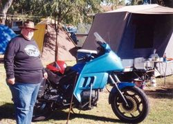 Tom's campsite at the 1998 AGM Bunbury - Mar 1998